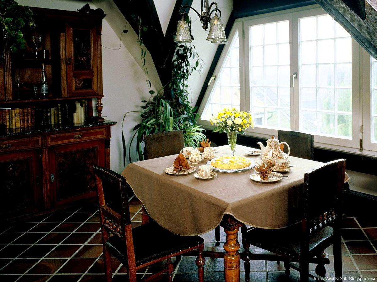 sfondo Interno Della Cucina, Sala Da Pranzo, Interior ...