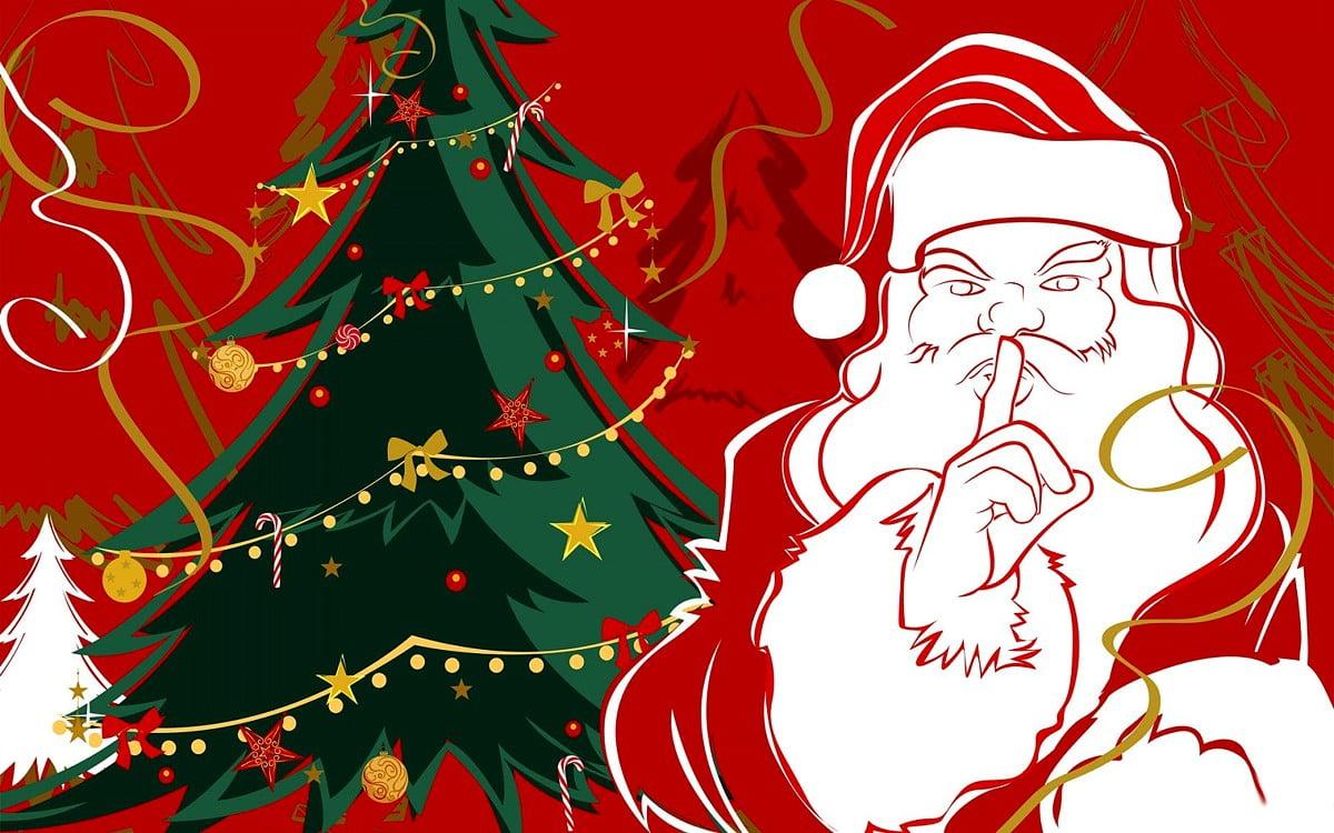 Sfondi Babbo Natale.Sfondo Cartoline Di Natale Babbo Natale Natale Sfondi Gratis